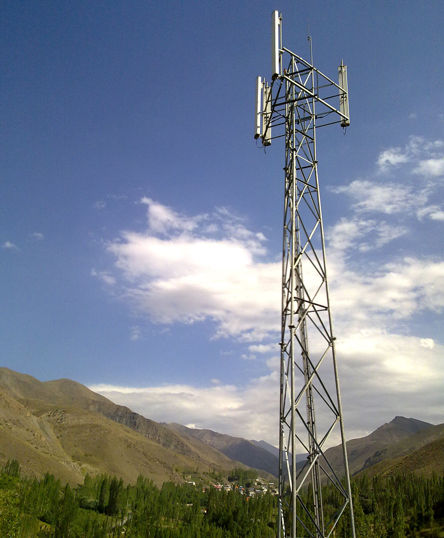 دکل تلفن همراه و راه اندازی سرویس اینترنت پر سرعت