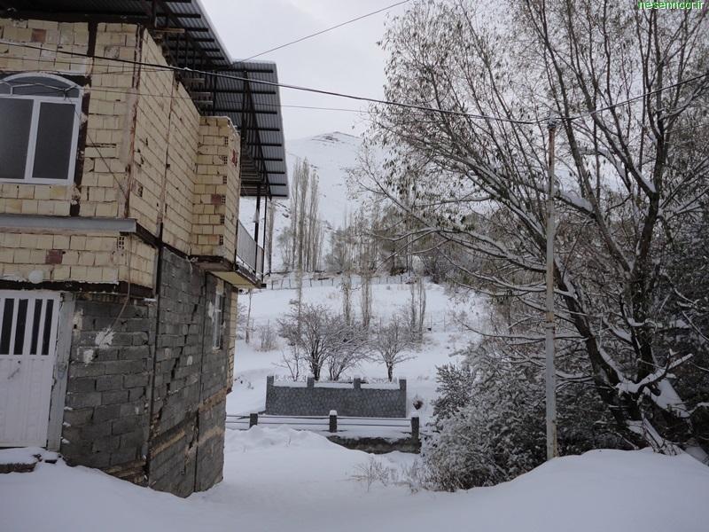 بارش برف در پاییز سال ۱۳۹۳